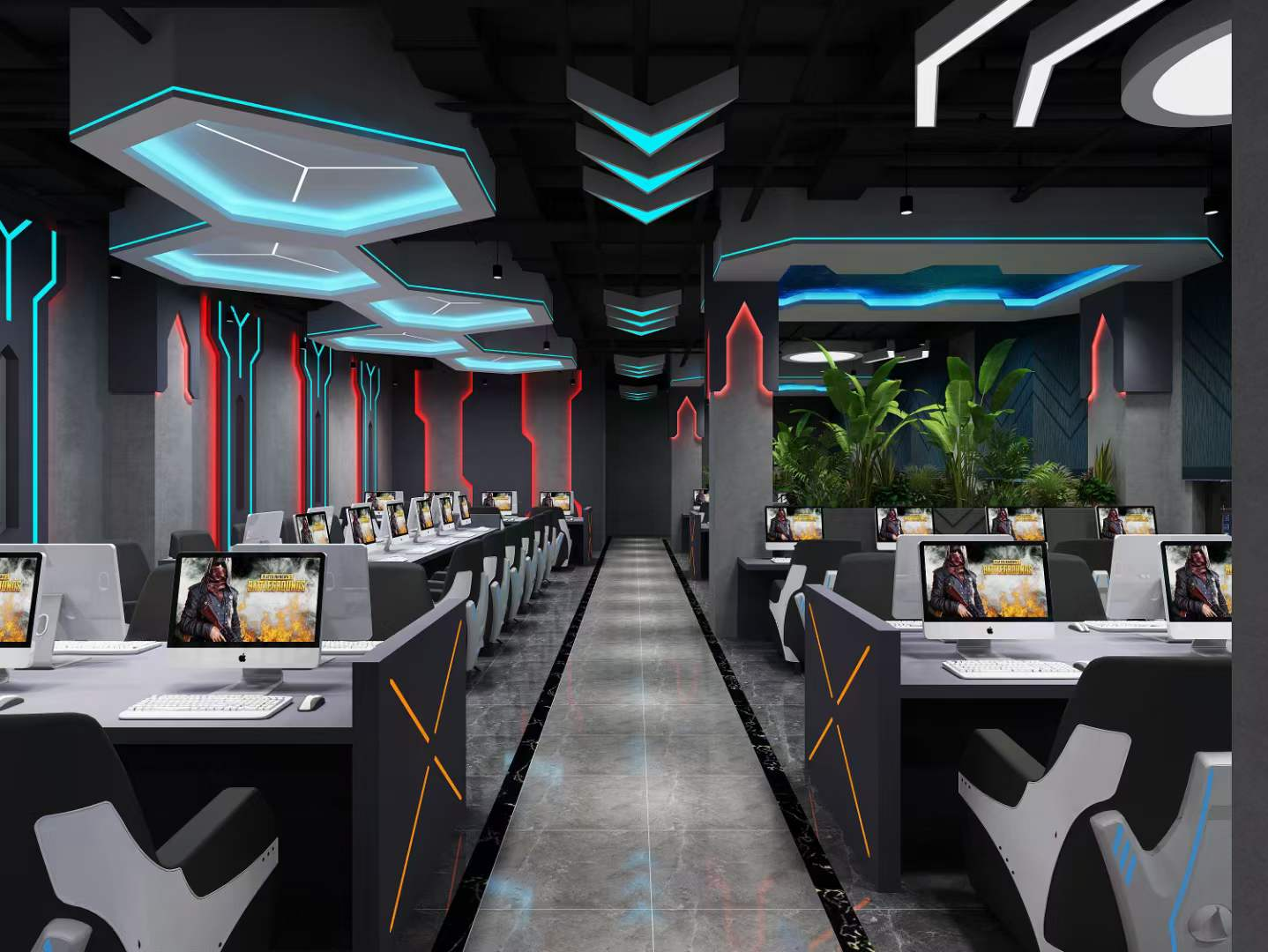 重庆网吧装修多少钱?网吧装修有哪些注意事项?