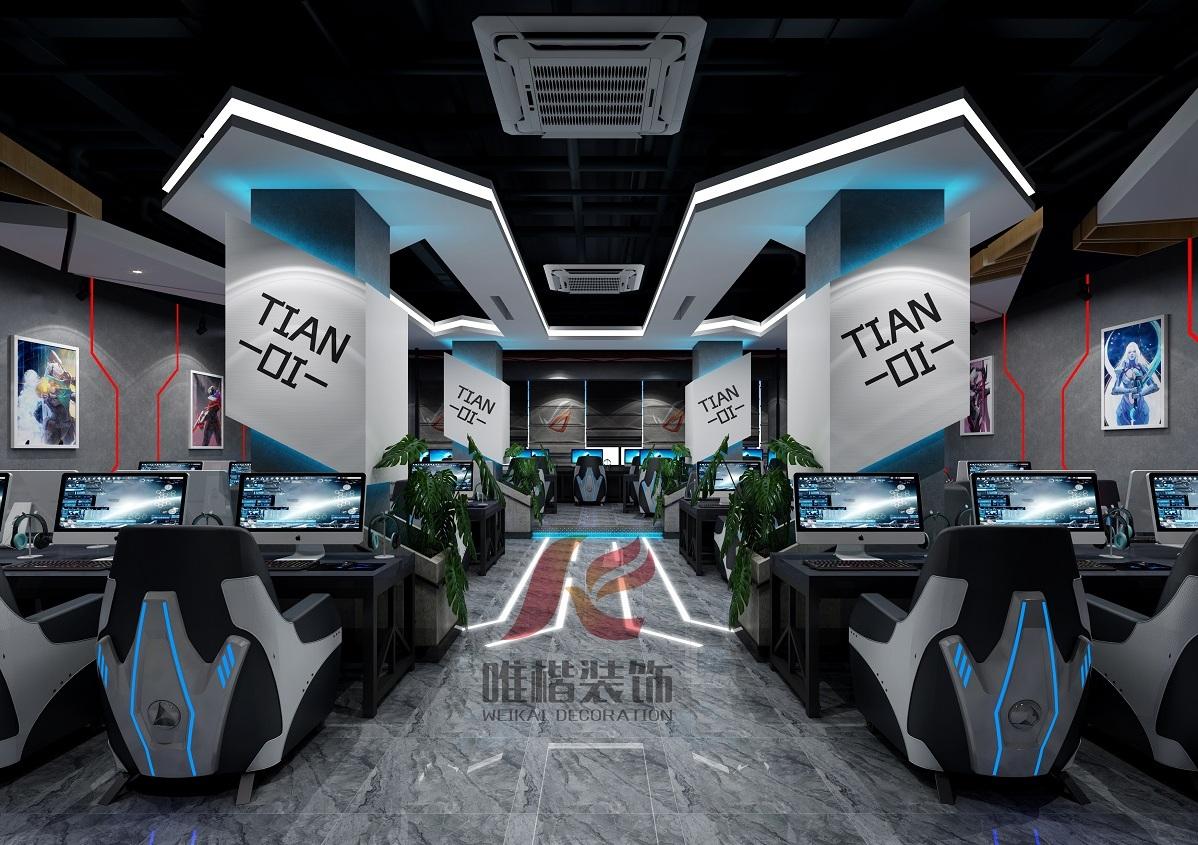 重庆网吧装修设计基本要点