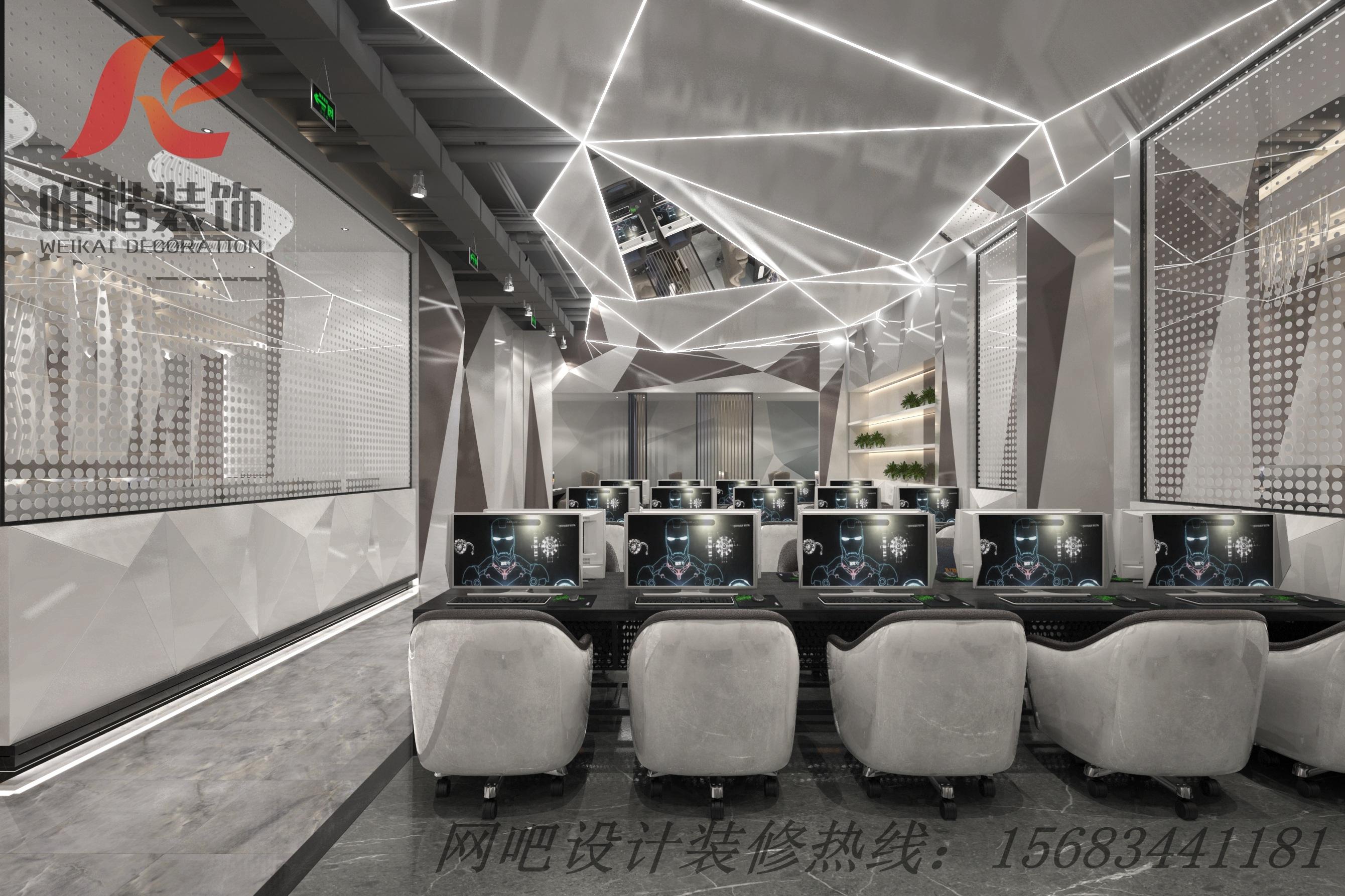 重庆网吧50台机子需要多大面积?50台网吧利润分析